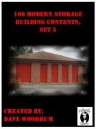 100 Modern Storage Building Contents, Set 5