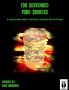 100 Scavenged Food Sources