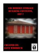 100 Modern Storage Building Contents, Set 7