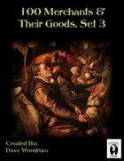 100 Merchants & Their Goods, Set 3