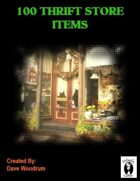 100 Thrift Store Items