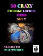 50 Crazy Storage Locker Items, Set 2