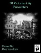 50 Victorian City Encounters