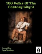 100 Fantasy City Folk 2