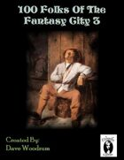 100 Fantasy City Folk 3