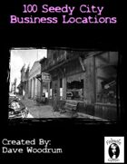 100 Seedy City Business Locations