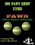 100 Pawn Shop Items
