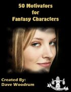 50 Motivators for Fantasy Characters
