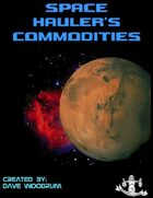 Space Hauler's Commodities