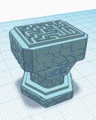 Maze Game Pedestal (STL 3D Print File)