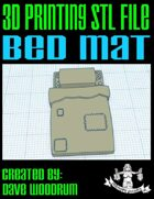 Bed Mat: 4 Versions (3D Printing)
