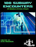 100 Subway Encounters