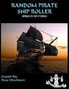 Random Pirate Ship Roller