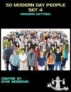 50 Modern Day People, Set 4
