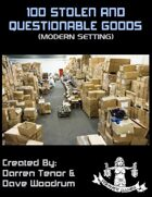 100 Stolen And Questionable Goods (Modern)