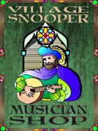 Village Snooper: Musician Shop