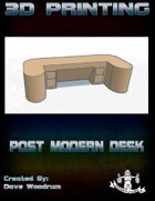 Post Modern Desk (3D Printing)