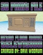 Retro Floor Model Television (3D Printing)
