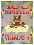 100 Sinister Villains 3