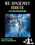 100 Spaceport Robots