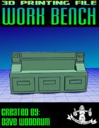 Work Bench (3D Print STL File)