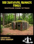 100 Survival Bunker Finds