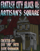 Fantasy City Block 01: Artisan's Square