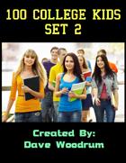 100 College Kids Set 2