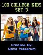100 College Kids Set 3
