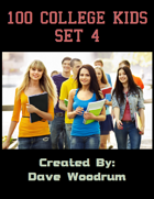 100 College Kids Set 4