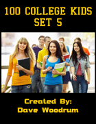 100 College Kids Set 5