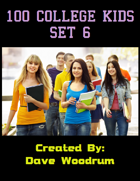 100 College Kids Set 6