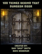 100 Things To Find Behind That Dungeon Door