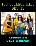 100 College Kids Set 13