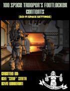 100 Space Trooper's Footlocker Contents