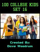 100 College Kids Set 16