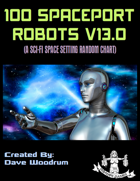 100 Spaceport Robots V13.0