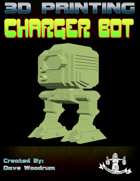 Charger Bot (3D Print: STL)