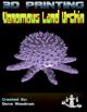 Venomous Land Urchin (3D Print: STL)