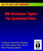 100 Customer Types for Spaceport Bars