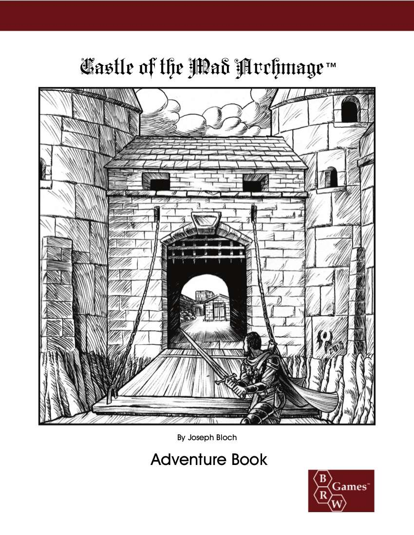 Cover of Castle of the Mad Archmage