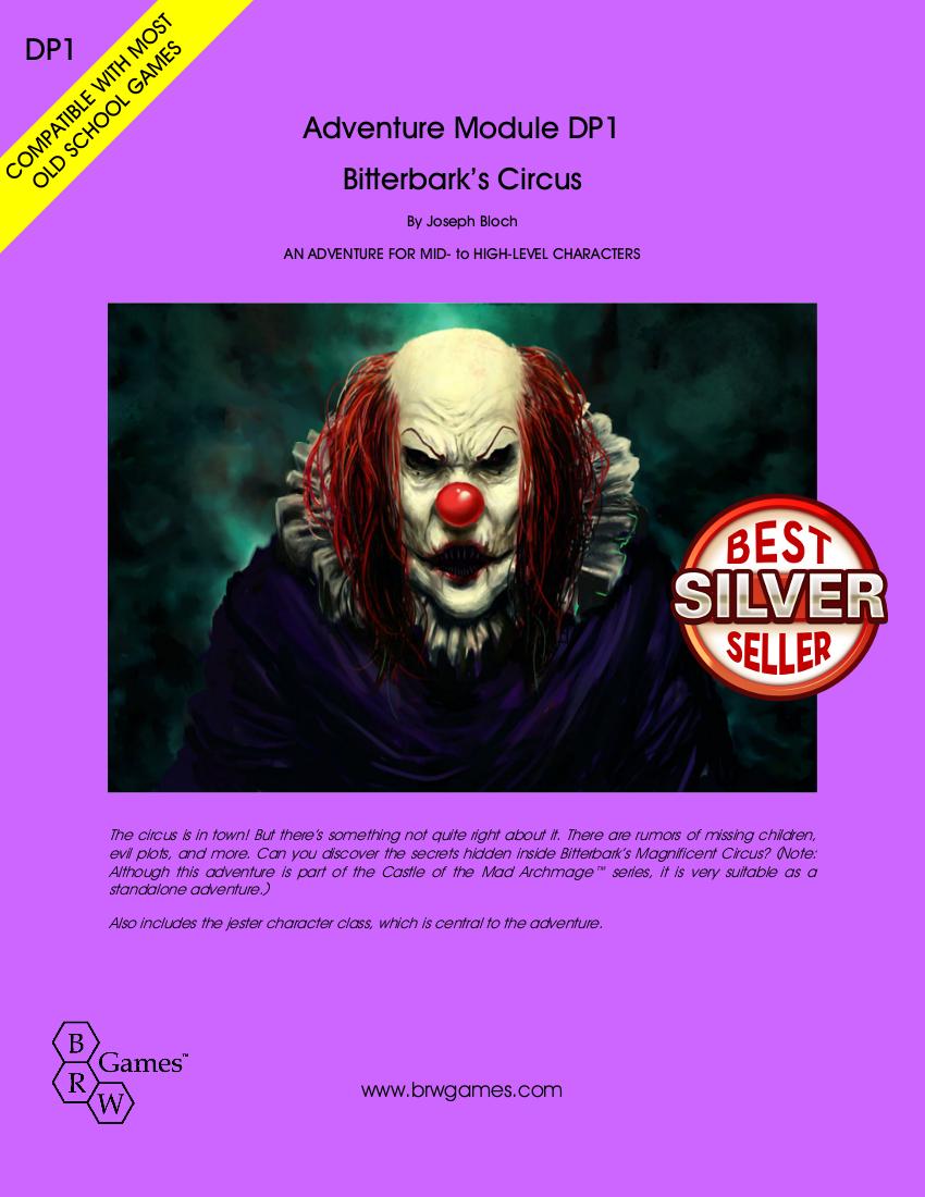 Cover of Bitterbark's Circus
