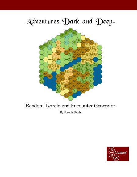 Random Terrain and Encounter Generator - BRW Games