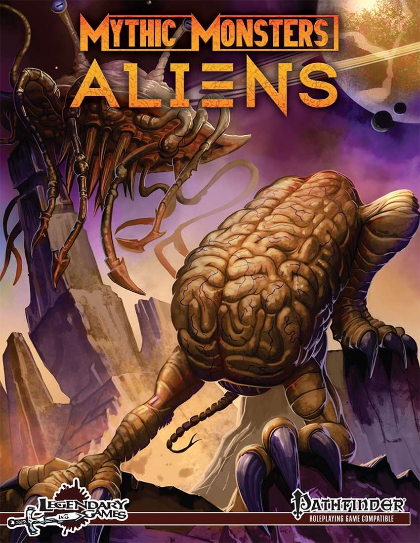 Mythic Monsters: Aliens (variant cover)