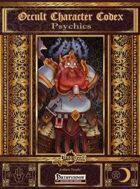 Occult Character Codex: Psychics