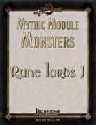 Mythic Module Monsters: Rune Lords 1