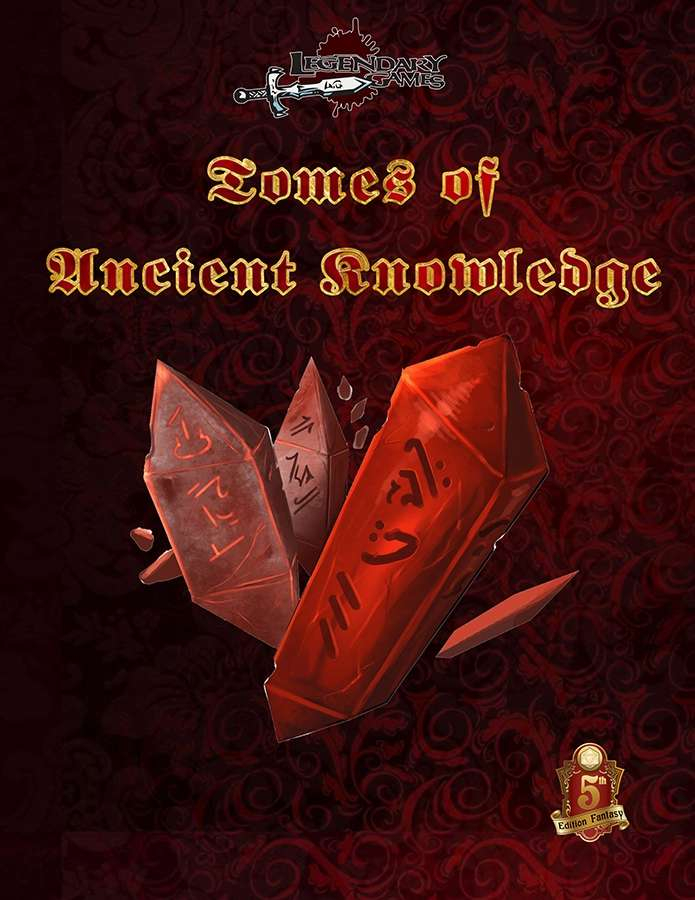 Tomes of Ancient Knowledge (5E)