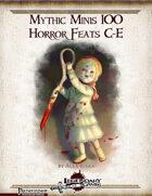 Mythic Minis 100: Horror Feats C-E
