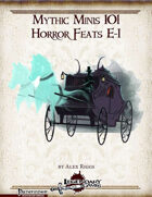 Mythic Minis 101: Horror Feats E-I