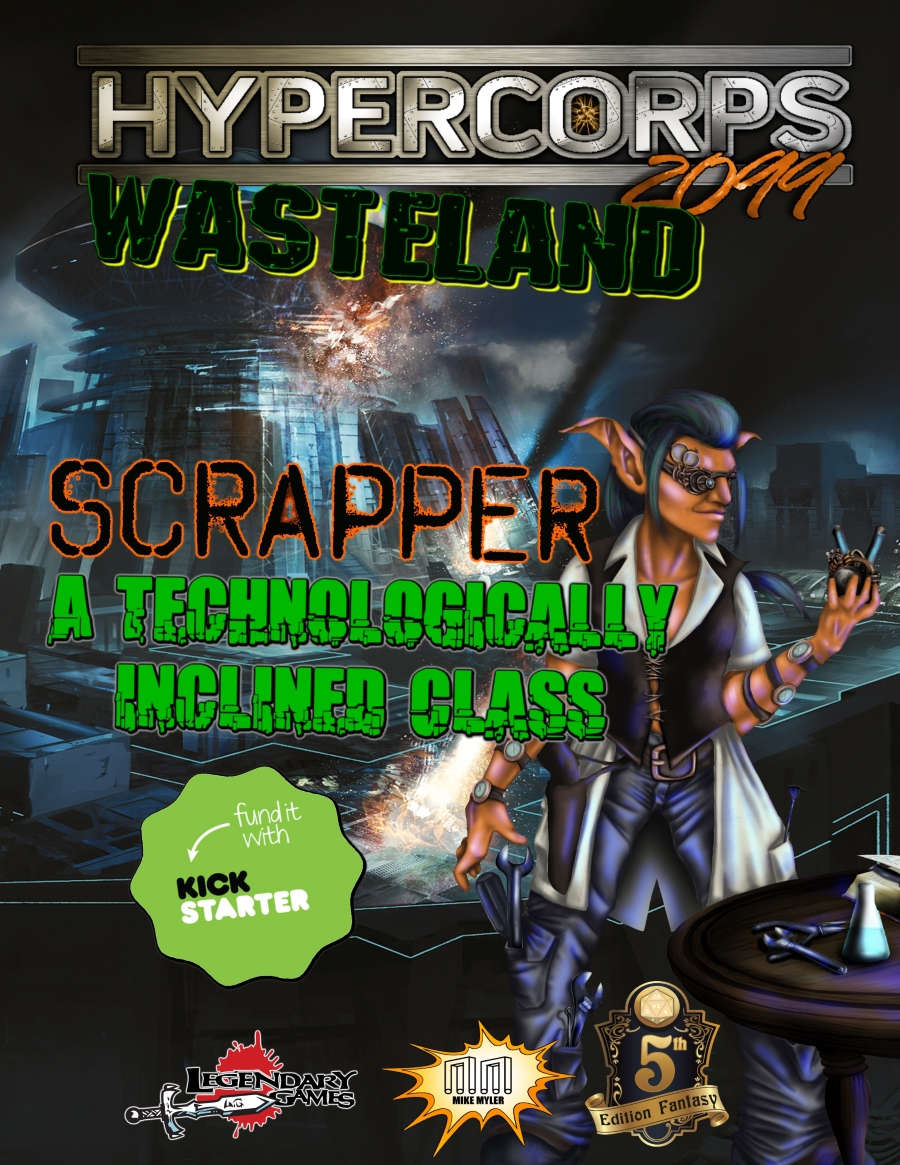 Hypercorps 2099 Wasteland: The Scrapper Class